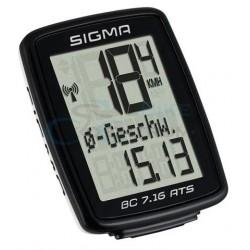 Cyklopočítač Sigma BC 7.16 ATS, bezdrôtový