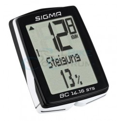 Cyklopočítač Sigma BC 14.16 STS, bezdrôtový