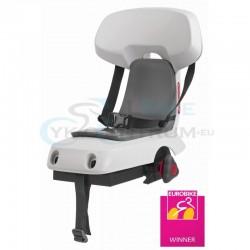 detská sedačka zadná Polisport GUPPY Junior na nosič, svetlosivá