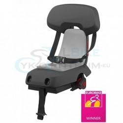 detská sedačka zadná Polisport GUPPY Junior na nosič, tmavosivá