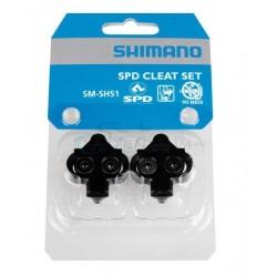 zarážky Shimano SM-SH51, bez protikusu, čierne