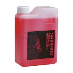 minerálny olej Shimano pre hydraulické brzdy, 1000 ml