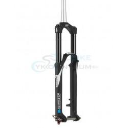 vidlica SR Suntour DUROLUX Boost R2C2 PCS 160mm 15QLC2TI-110mm 27,5 CTS, čierna matná