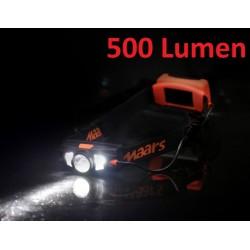 predné svetlo - čelovka Maars, 540 Lumenm, IP44