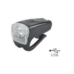predné svetlo MPB 1 biela 3 Watt LED, 200 Lm, 3.funkcie