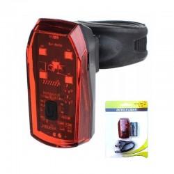 zadné brzdové svetlo MPB,  5 LED, na batérie