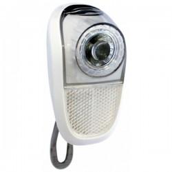 predné svetlo Union, 1 biela LED, 1.funkcia, biele telo