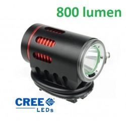 predné svetlo MPB, Angel Eye dióda Cree XM-L2, 800 Lumen