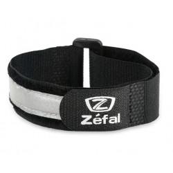 Reflexná páska ZÉFAL Doowah, suchý zips, čierna