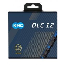 Reťaz KMC DLC 12 Black, 12.kolo