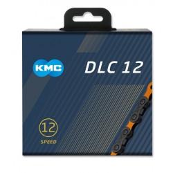 Reťaz KMC DLC 12 čierno-oranžová, 12.kolo