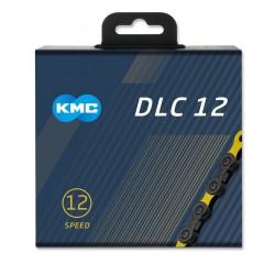 Reťaz KMC DLC 12 čierno-žltá, 12.kolo