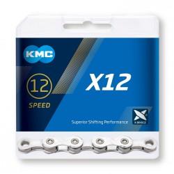 Reťaz KMC X12 Silver, 12.kolo