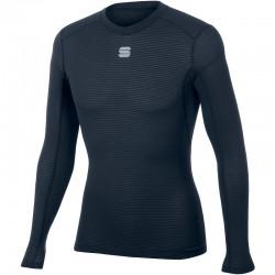 pánske tričko Sportful TD MID top s dlhým rukávom, tmavomodré