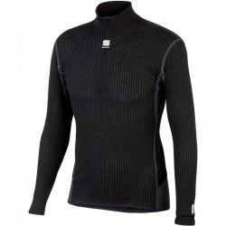 pánske tričko Sportful SottoZero termotričko, dlhý rukáv, čierne