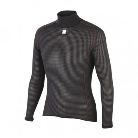 tričko  Sportful Bodyfit BaseLayer LS, dlhý rukáv, čierne