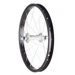 """predné koleso 16"""", (305x20), čierny ráf, maticové"""