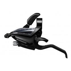 radiaca a brzdová páka Shimano ST-EF500-3.kolo, ľavá, čierna