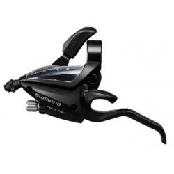radiaca a brzdová páka Shimano ST-EF500-2.prevodník, ľavá, čierna