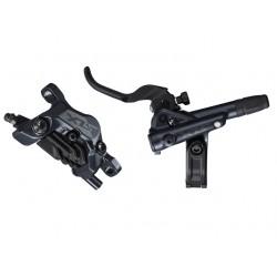 predná hydraulická brzda Shimano SLX M7120, čierna, Post Mount, 1000mm, hadica+platničky N03A