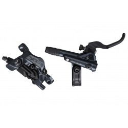 zadná hydraulická brzda Shimano SLX M7120, čierna, Post Mount, 1700mm, hadica+platničky N03A