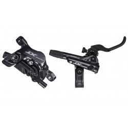 zadná hydraulická brzda Shimano XT M8120, čierna, Post Mount, 1700mm, hadica+platničky N03A