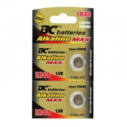 Batéria alkalická LR44, 1,5Volt,  cena za 1 kus