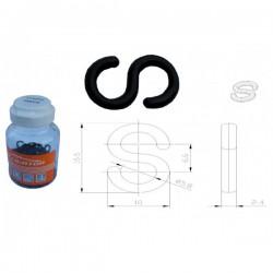 Stabilizátor-držiak bowdenu, typ S, plastový, KUS