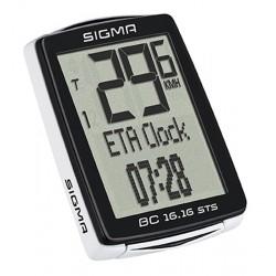 počítač SIGMA BC 16.16 STS CAD 16.funkcií, bezdrôtový, čierny