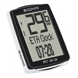 Cyklopočítač Sigma BC 16.16, drôtový