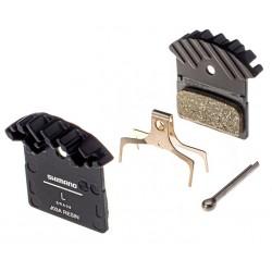 brzdové platničky chladičom Shimano J03A,  XTR-XT-SLX-ALFINE