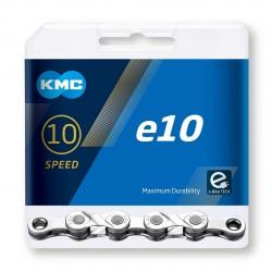 Reťaz KMC e10 Silver pre elektrobicykle, 10.kolo