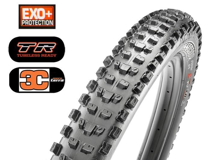 Plášť 29x2,60 MAXXIS Dissector  WT kevlar EXO+ TR 120 TPI 3C Maxx Terra