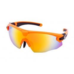 okuliare HQBC QERT PLUS - Reflexné oranžové