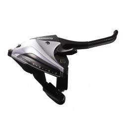 radiaca-brzdová páka Shimano ST-EF60-8.kolo, pravá, strieborná, OEM