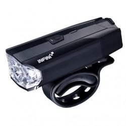 predné svetlo Infini LAVA 500 Lite 6.funkcií, čierne, USB nabíjanie