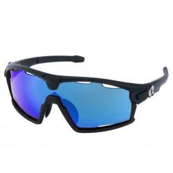 okuliare HQBC QERT Plus FF HD, čierne matné