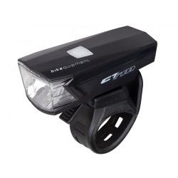svetlo predné CTM FULGO, USB, LED