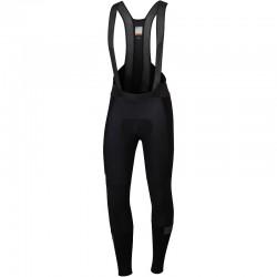 cyklistické nohavice Sportful SuperGiara s trakmi, čierne