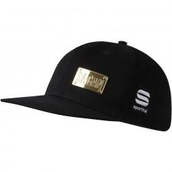 šiltovka Sagan Line - Sportful SAGAN GOLD, čierna