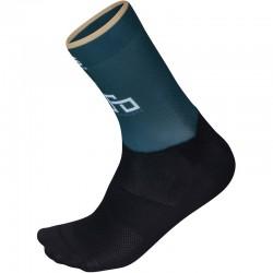 ponožky Sagan Line - Sportful SAGAN GOLD modrozelené-čierne
