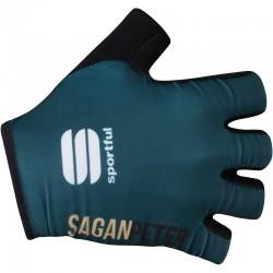 rukavice Sagan Line - Sportful SAGAN GOLD, modro-zelené