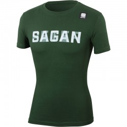 tričko s krátkym rukávom Sagan Line - Sportful PETER SAGAN, tmavozelené