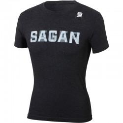 tričko s krátkym rukávom Sagan Line - Sportful PETER SAGAN, tmavosivé