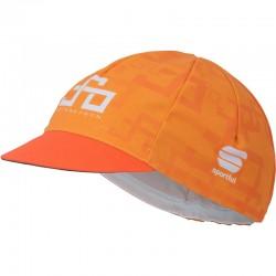 čiapka aj pod prilbu Sagan Line - Sportful SAGAN LOGO CYCLING šiltovka, oranžová