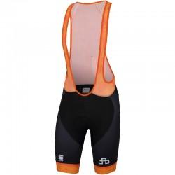 kraťasy s trakmi Sagan Line - Sportful SAGAN LOGO BodyFit CLASSIC, oranžové