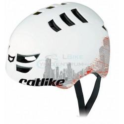 prilba CATLIKE 360 - 2014 biela City