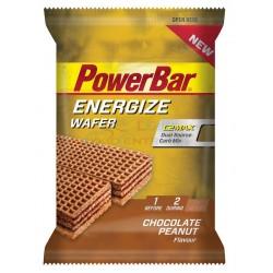 tyčinka PowerBar Energize Wafer 40g Čokoláda-arašidy