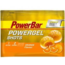 gumené cukríky PowerBar Energize SportShots 60g, pomaranč