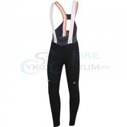 nohavice Sportful Total Comfort s trakmi, čierne